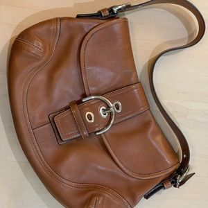 2 for $45! Brown leather Coach bag